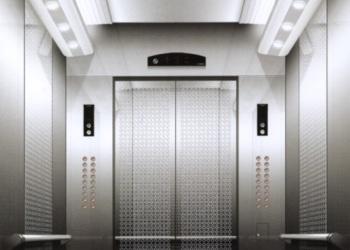 Установка кабин лифтов